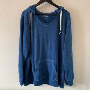 2/$18 Lightweight / Blue / Hoodie